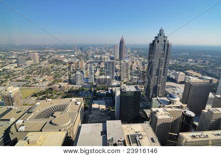 Vista aérea de Atlanta