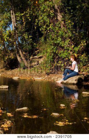 Lakeside Artist