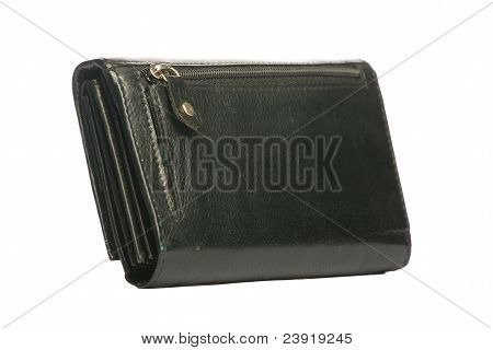 Moneybag isolated on white.