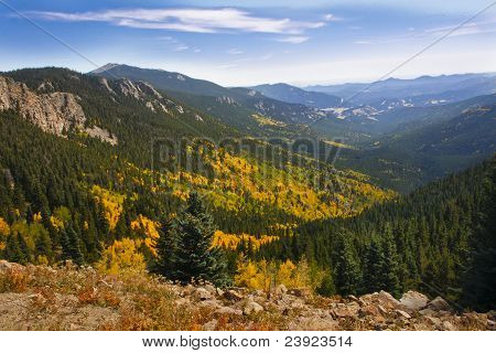 Autumn in the Colorado Rocky Mountains