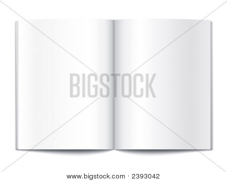 Blank Book Pages Template
