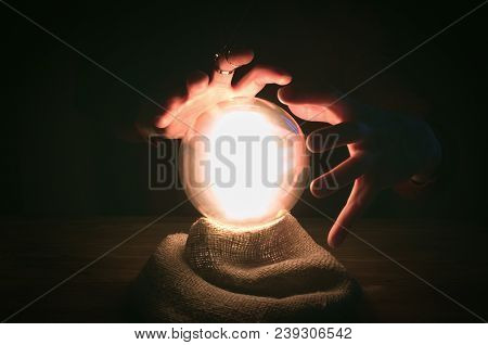 Crystal Ball And Fortune Teller