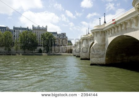 Pont Neuf In Paris