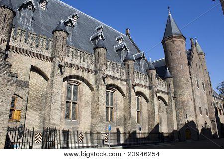 Detail, Binnenhof. Dutch building