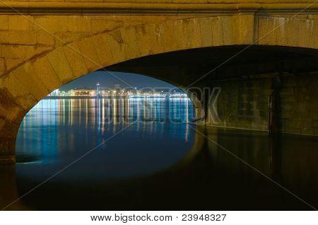 Saint Petersburg, Russia, night view