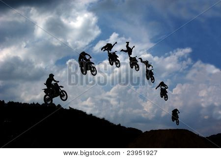 FMX silhouette