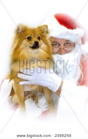 Christmas Hug From Santa