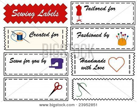 Sewing & Tailoring Labels