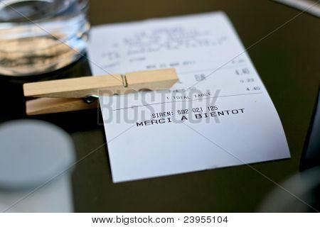 coffee bar bill