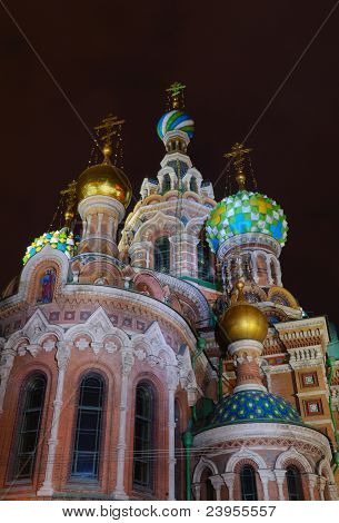 Russia, St. Petersburg, Orthodox Church