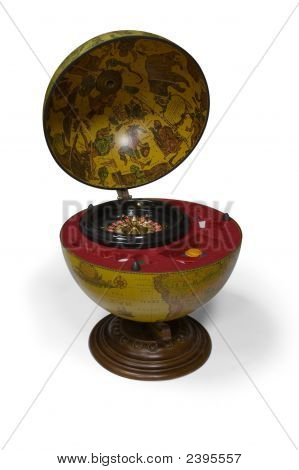 Ancient Globe With A Secret Inside