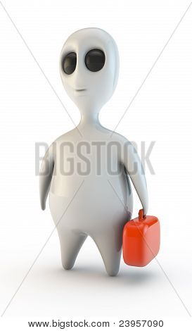 Alien worker isolated