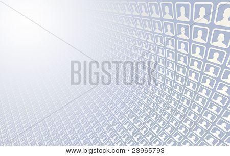 Soziales Netzwerk-Icons