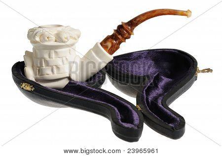 Tobacco pipe from meerschaum