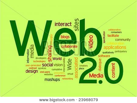 Web 2.0  Word Cloud