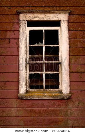 Window in and Old Barn