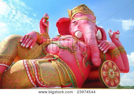 Ganesha God Of Hindu