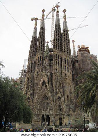 Barcelona.Sagrada Familia.