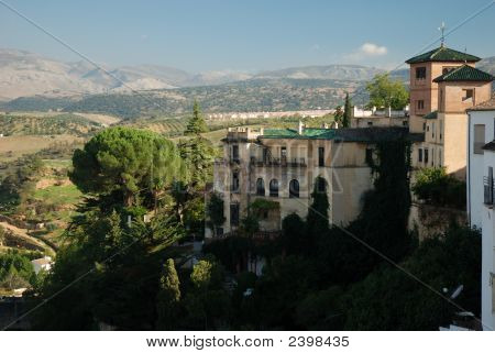 Buildings In Ronda, Spain