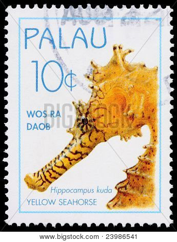 A 10-cent Stamp Printed In Palau