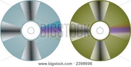 Compact Disc Vector.Eps
