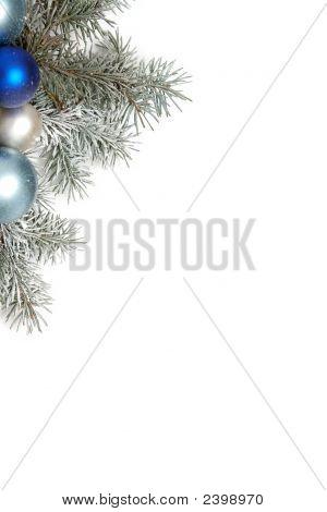 verschneit Weihnachtsdekoration
