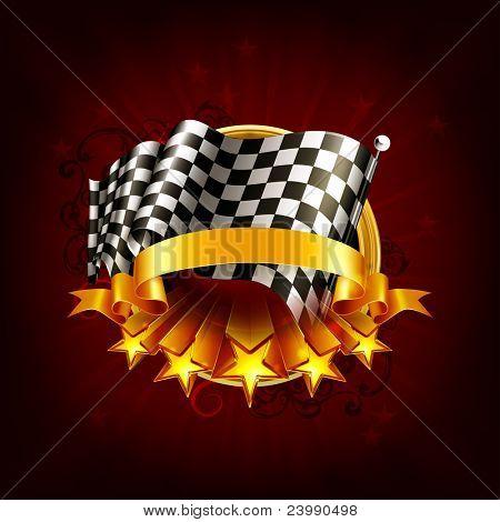 Racing emblem, 10eps