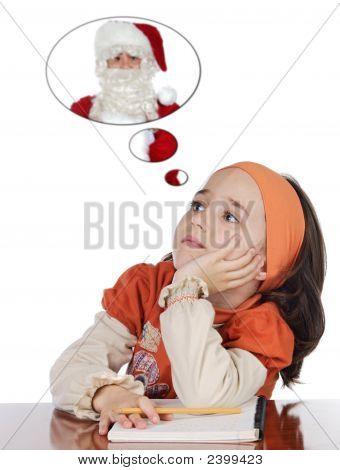 Studying Thinking About Santa