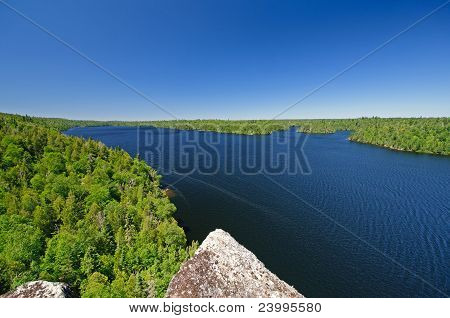 Wild Lake In Canoe Country