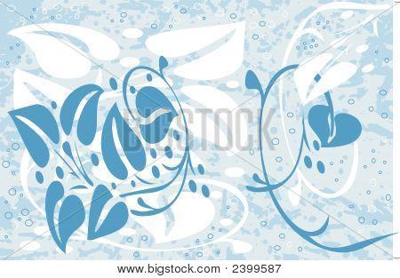 Grunge Flower Design