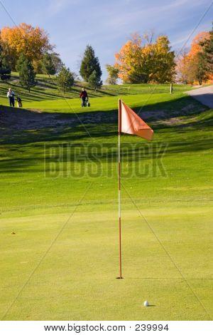Golf Flag 04