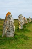 Megalithic Monuments In Brittany poster