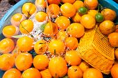 Orange Background, Group Of Fresh Orange, Closeup Of Orange. Nafil Orange. poster