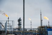 Oil And Gas Industry,refinery Factory poster
