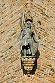 pic of william wallace  - A William Wallace Monument statue Stirling Scotland - JPG