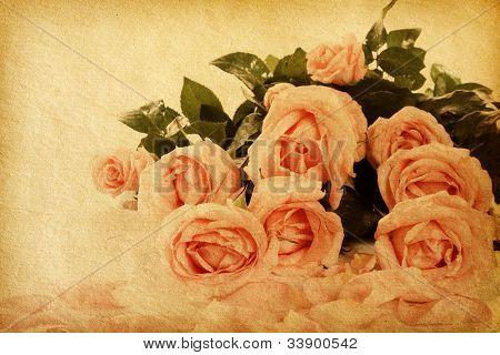 fondo floral con espacio para texto o imagen. texturas de papel de flores.
