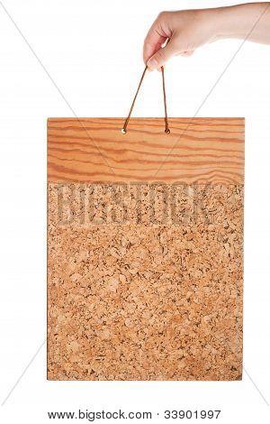 Vintage Corkboard In Hand