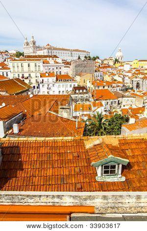 Alfama, Old Part Of Lisbon