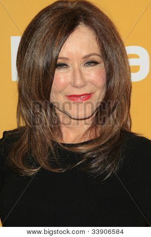 BEVERLY HILLS - JUN 12: Mary McDonnell at the 2012 Women In Film Crystal + Lucy Awards held at The Beverly Hilton Hotel on June 12, 2012 in Beverly Hills, California