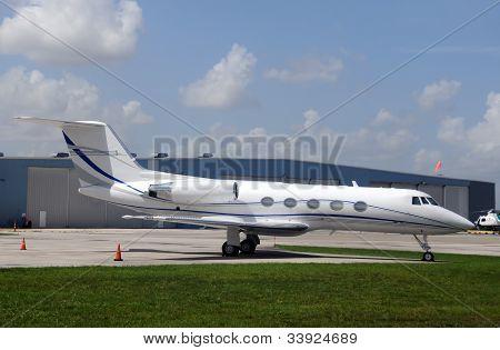 Corporate Jet Airplane