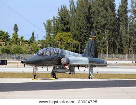 Military Training Jet