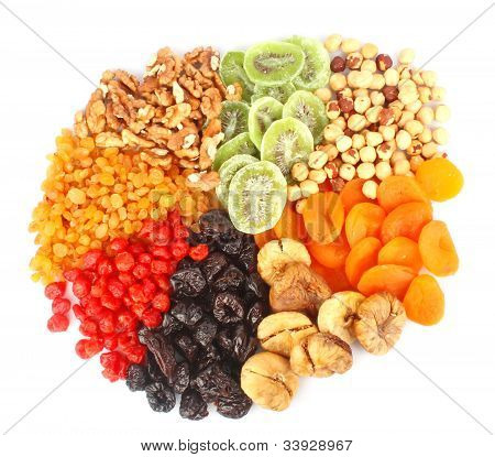 Dried Fruits Round