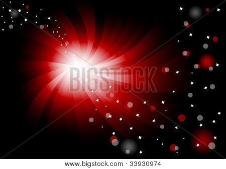 Vector Abstract Bright Background