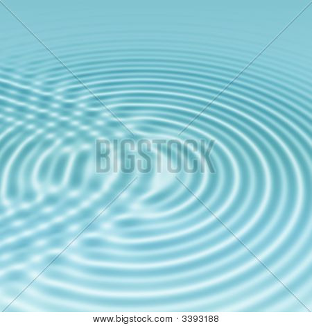 Clear Blue Water Ripples