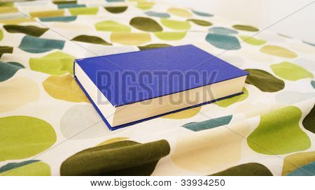 Book on the bed