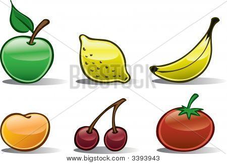 Fruit Icons Basic
