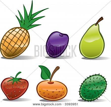 Fruit Icons Basic