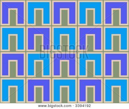 Pop Art Cs Pattern Blue Light Blue