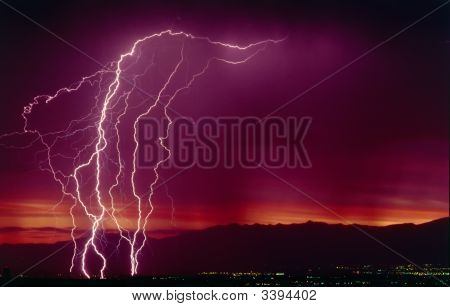 Lightning Bolt Strikes
