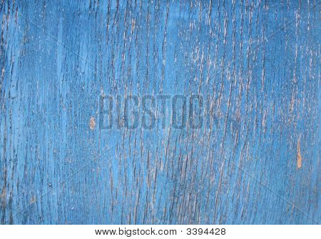 Texture - Cracked Paint On A Wooden Surface